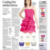 Caring for underarms (NST 12 June 2013)
